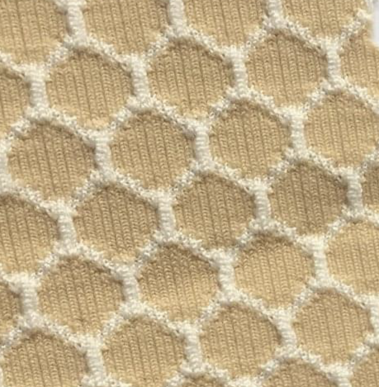 NOFLYNOCRY Fliegenmaske Sweet-Sand Muster Augennetz 75% UV-Blocker